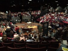 Fun Home, before the show.
