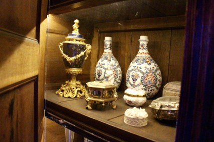The cabinet of miniatures.