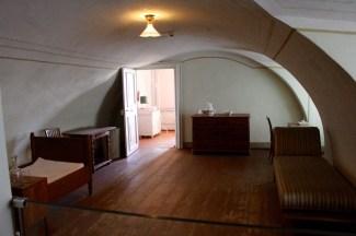 Servant quarters.