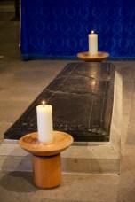 The shrine of St. Osmund.