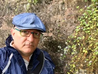 At an 1800 year old Roman wall.