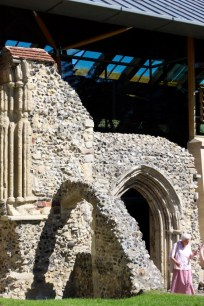 Old refectory entrance