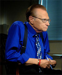 Larry King PSA Prostate Cancer