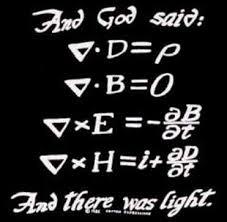 Maxwell Equations_And_God_Said