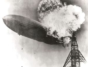 Hindenburg_burning disaster medicine