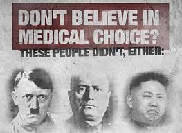 Dont Believe in Medical Choice Mandatory Vaccination