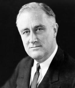 Franklin Delano Roosevelt 1933