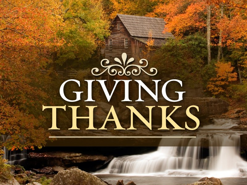 Giving Thanks for COVID-19