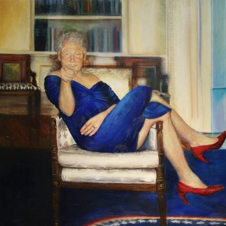 SP.Bill clinton portrait