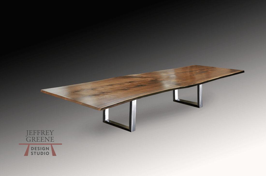 Table Designs And Base Options Jeffrey Greene Design Studio