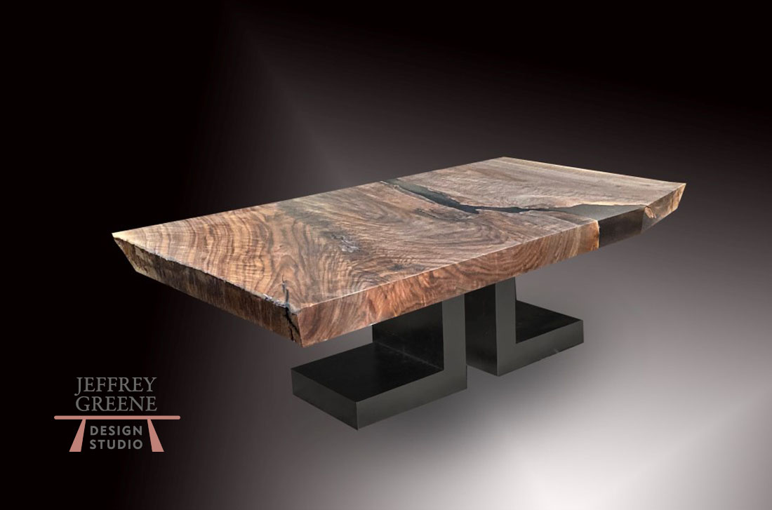 rare wood slab coffee tables jeffrey