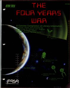 The Four Years War cover