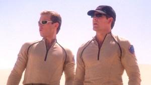 Commander Tucker and Captain Archer wear desert uniforms