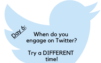 Twitter Challenge: Day 6 – When do you Tweet?