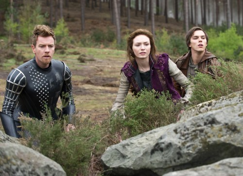 "Daniel Smith/Warner Bros. PicturesElmont (Ewan McGregor), Isabelle (Eleanor Tomlinson) and Jack (Nicholas Hoult) in ""Jack the Giant Slayer."