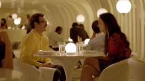 """Courtesy Warner Bros. Pictures Joaquin Phoenix as Theodore and Olivia Wilde as Blind Date in the romantic drama """"HER."""""""