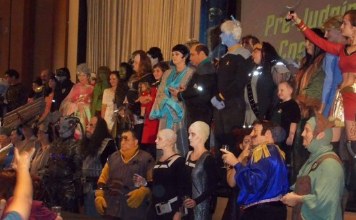 CC - Michael and Karen Malomay with Star Trek cosplayers