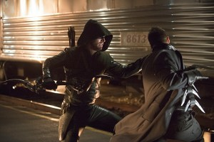Arrow - Episode 3.08 - The Brave and the Bold - Arrow vs Boomerang