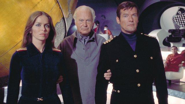007 The-Spy-Who-Loved-Me-Anya Amasova, Stromberg and James Bond