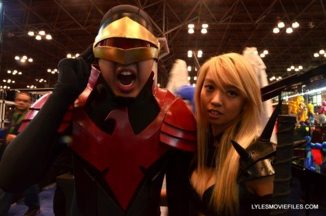 New York Comic Con cosplay - Cyclops and Magik