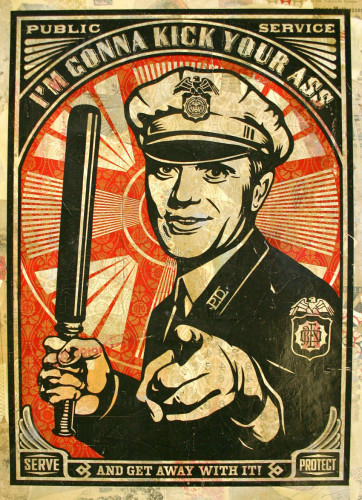 Obey Cop