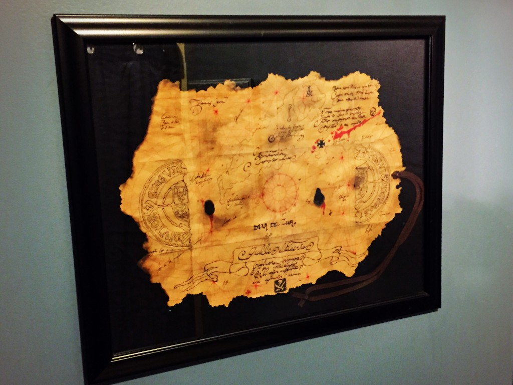 Goonies Treasure Map Replica