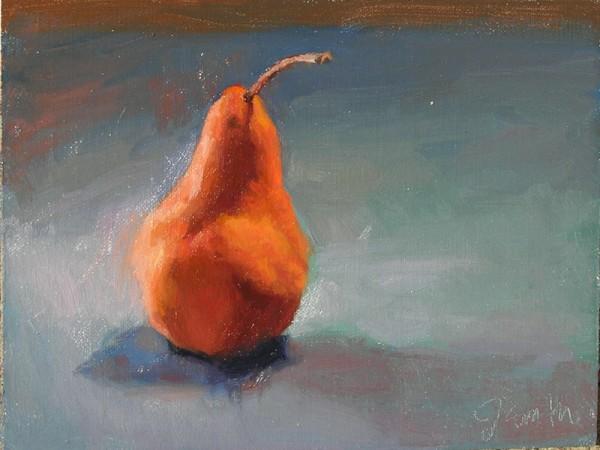 Alla Prima Pear