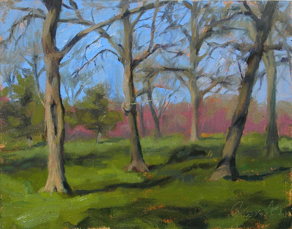 Plein Air Painting in the Park