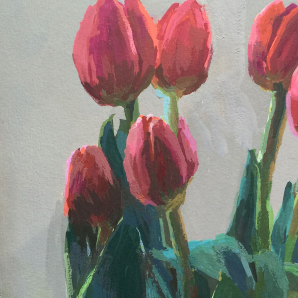 Tulips, detail | Jeffrey Smith