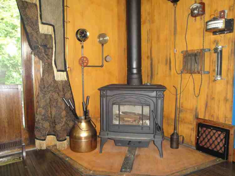 1 Steampunk Fireplace 1
