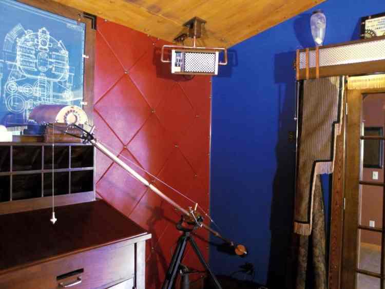 12 Steampunk lamp Corner