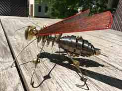 Steampunk Wasp-side view