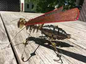 Steampunk Wasp-side view