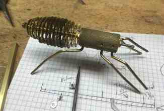 25 Legs soldered and mounted