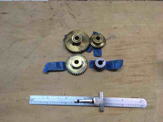 Earth Orrery Gears