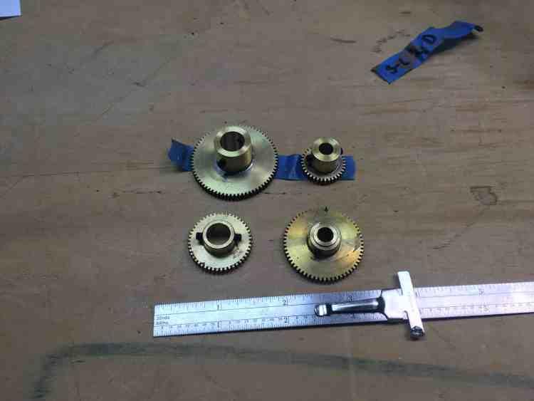 Saturn Orrery Gears
