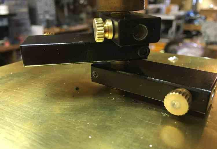 Orrey Earth Jupiter Saturn set screws 2