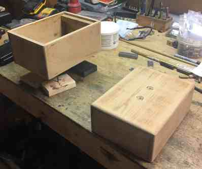 13 Box After Sanding