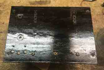 16 Control suface varnished