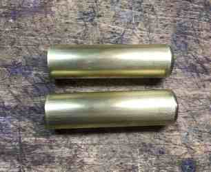 36 Brass tube polished