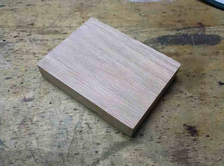 3- Oak Block