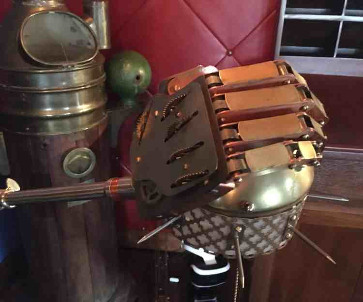24 Steampunk Hand Closeup