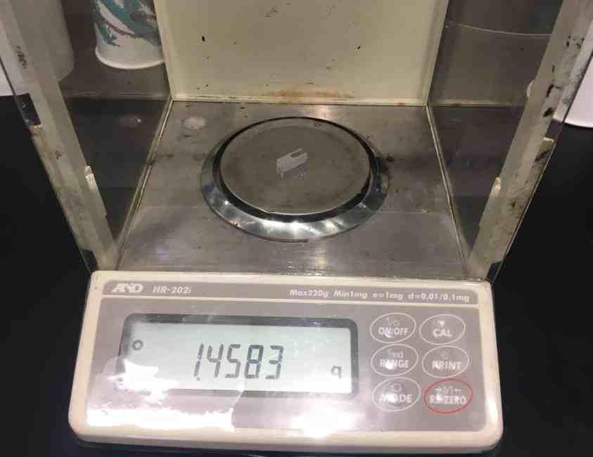 45f weighing