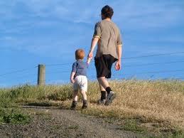 walk with boy