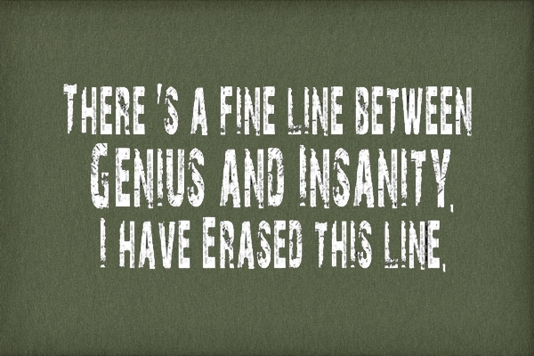 GENIUS AND INSANITY. - The Lancet