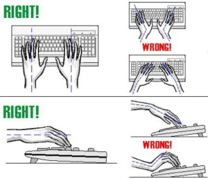 carpal tunnel syndrome keyboard