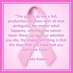 breast cancer awareness gilda
