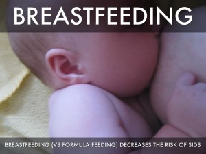 sids and breastfeeding