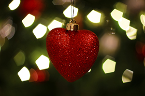 HHS heart ornament