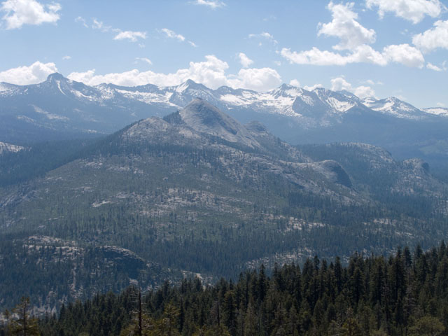 Mount Starr King and the Clark Range from Sentinel Dome.